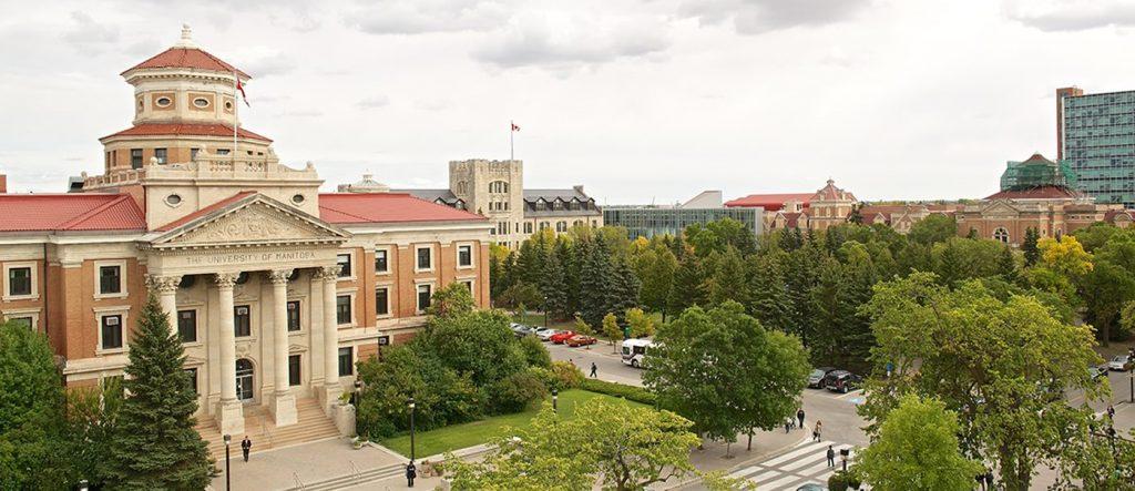 trường đại học Manitoba có chất lượng đào tạo đứng đầu Canada.
